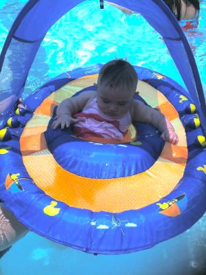 Swimways Babys Spring Float with Canopy Walmartcom