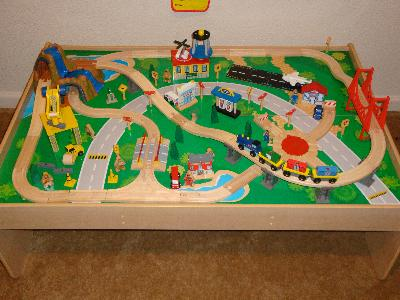 Train Table Kidkraft - Home Design Ideas and Pictures. Train Table Kidkraft Home Design Ideas And Pictures & Surprising Kidkraft Waterfall Mountain Train Set And Table 17850 ...