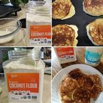 Coconut Pancakes using Coconut Oil and Coconut Flour