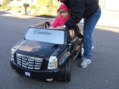 Power Wheels Cadillac Escalade EXT - Walmart.com