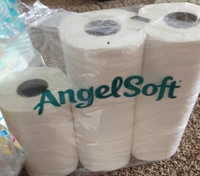 Angel Soft Toilet Paper, 9 Double Rolls - Walmart.com