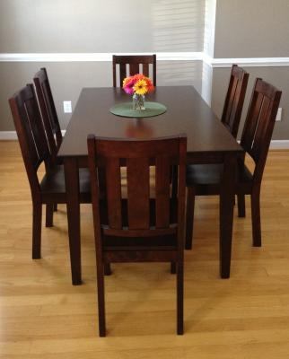 Better Homes And Gardens Bankston Dining Table, Mocha   Walmart.com