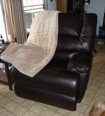 Better Homes and Gardens Deluxe Recliner Rich Brown Walmartcom