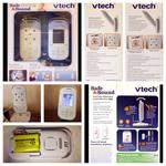 VTech Safe & Sound VM311 Full Color Video and Audio Monitor