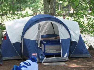 & Coleman Stockton 14u0027 x 9u0027 Tent Sleeps 8 - Walmart.com