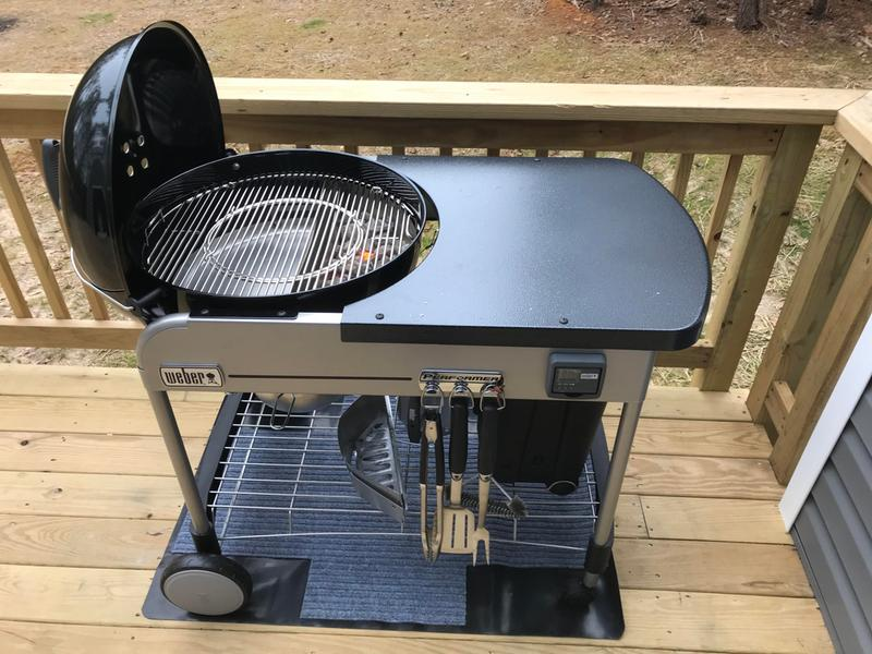 Weber 22 Performer Premium Charcoal Grill Grills