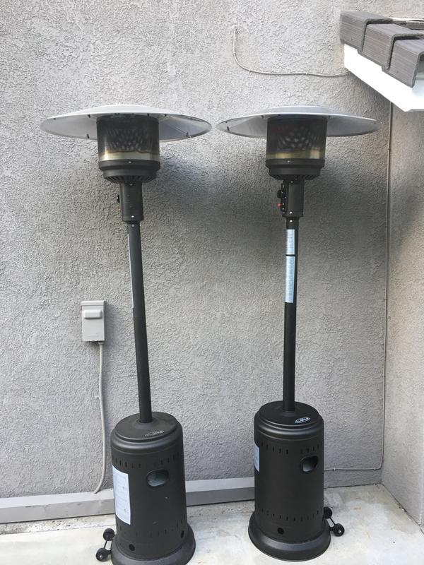 patio heater reviews us - modern patio - Patio Heating Ideas