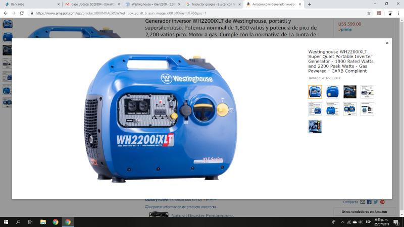 iGen2200 - 2,200 Watt Portable Inverter Generator