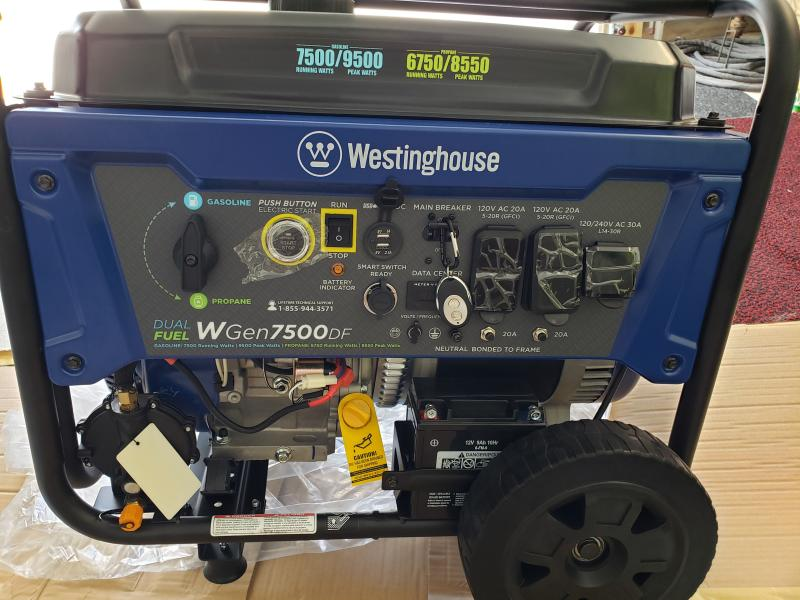 WGen7500DF - Westinghouse on