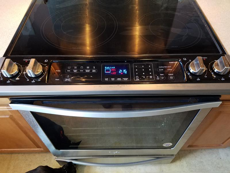 Stainless Steel 6 4 Cu  Ft  Slide-In Electric Range with