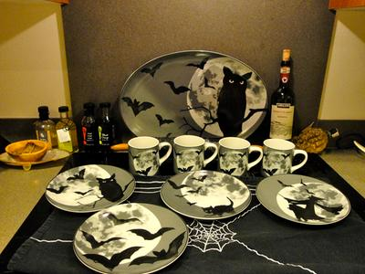 awessome 2015 halloween collection - Halloween Plates Ceramic