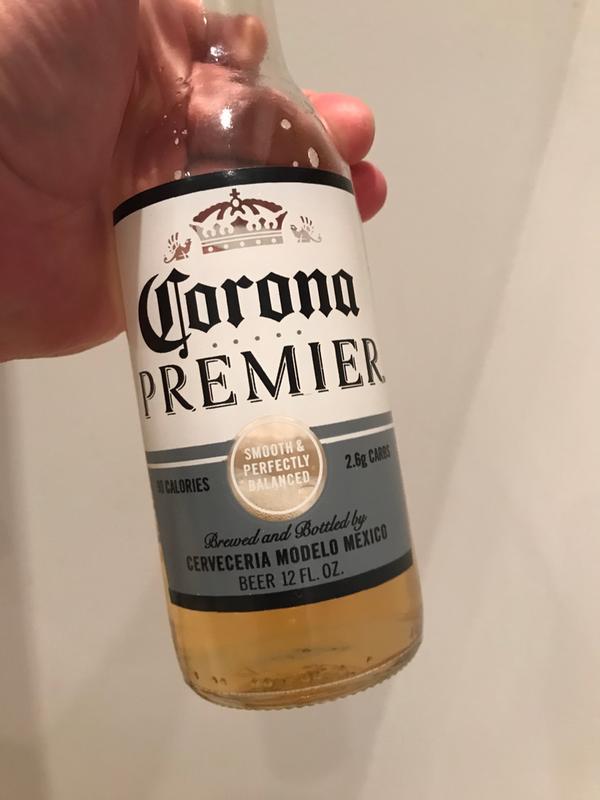 corona premier calories 12 oz