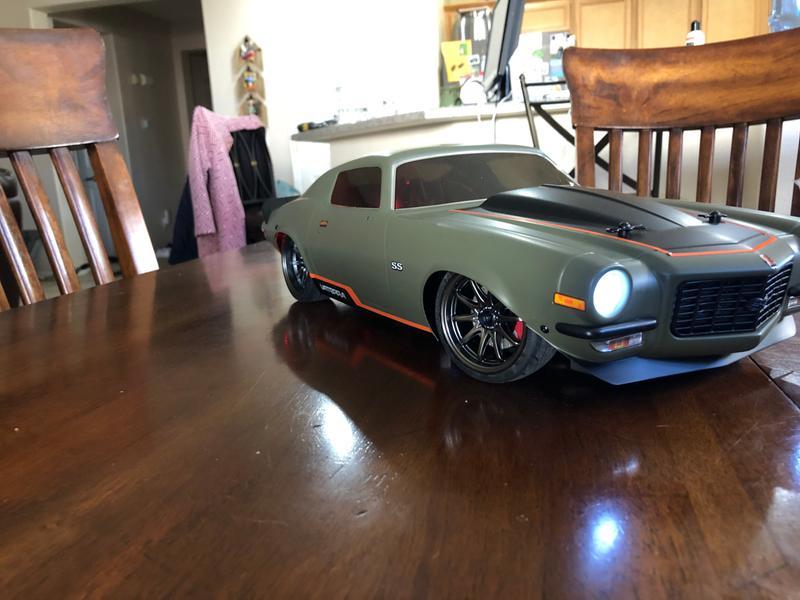 Vaterra 1/10 1972 Chevy Camaro SS V100 4WD RTR