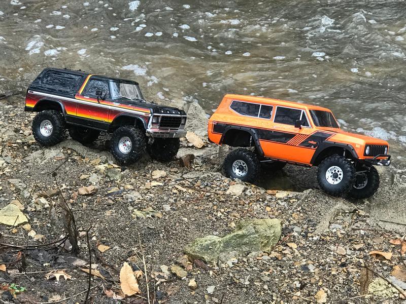 Redcat Racing 1/10 Gen 8 Intl Scout II 4WD RTR Orange