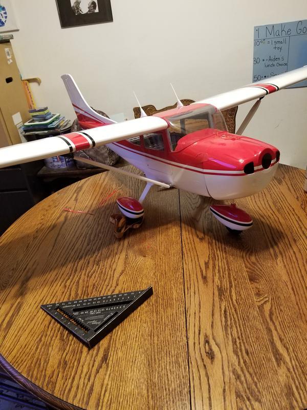 Phoenix Model 1:6 1/2 Cessna Skylane 182  46- 55/EP ARF