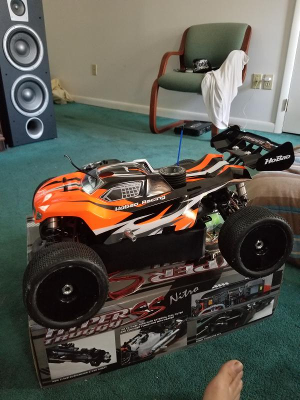HoBao Racing 1/8 Hyper SS Truggy Brushless RTR