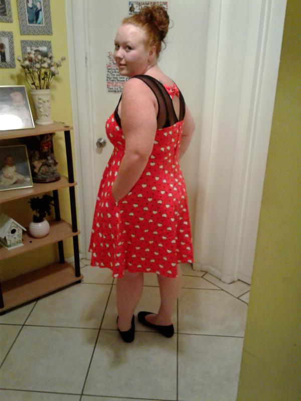 02ca207cb Sanrio Hello Kitty Collection Polka Dot Swing Dress - Plus Size | Torrid