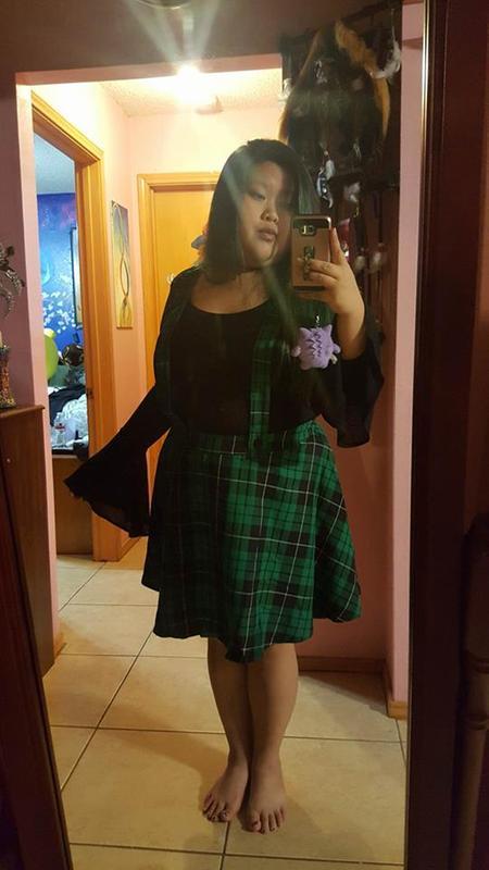 2524e386da Harry Potter Slytherin Suspender Skirt - Plus Size | Torrid