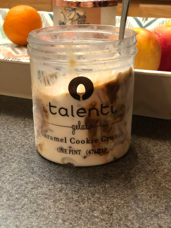 Caramel Cookie Crunch Gelato   Talenti®