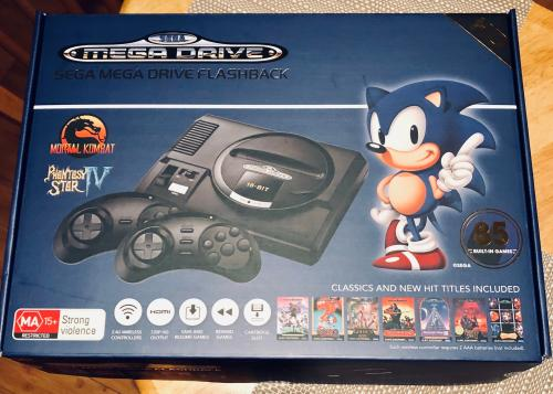 SEGA Mega Drive Flashback HD Game Console