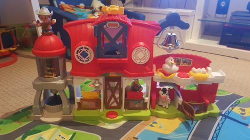 Fisher Price Little People Caring For Animals Farm Target Australia
