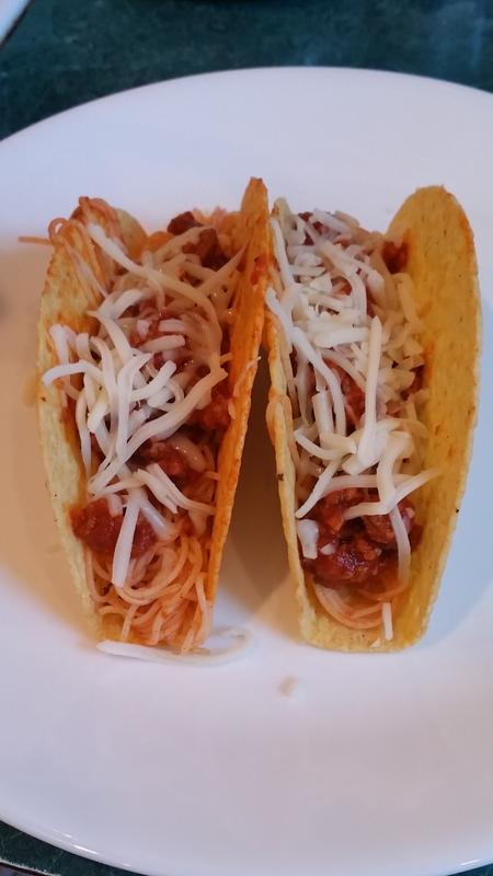 Mama Mia Spaghetti Tacos Tastefully Simple