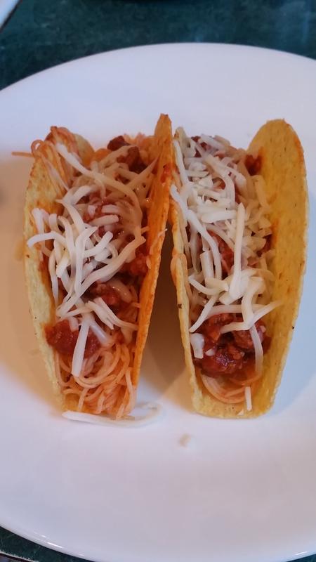 Mama Mia Spaghetti Tacos Tastefully Simple