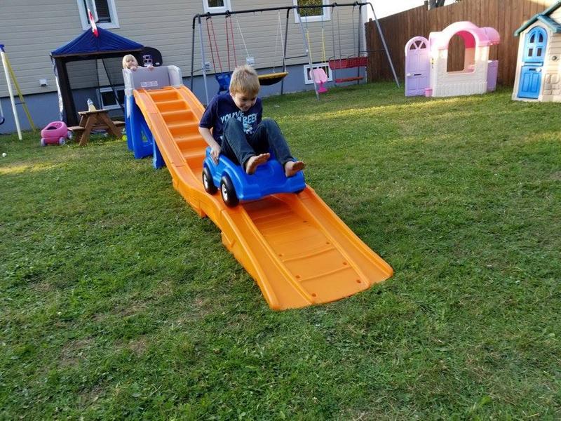 Kids Backyard Roller Coaster - House Backyards