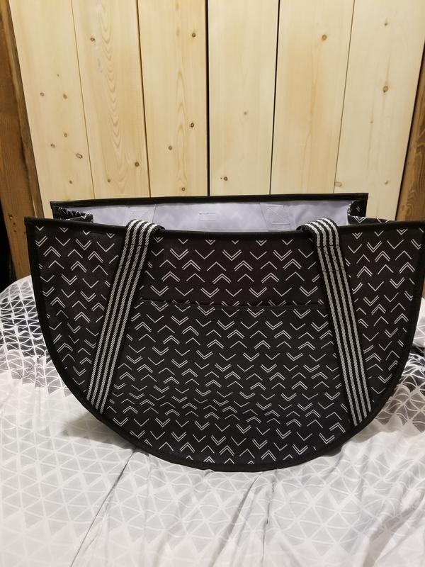 Details about  /Thirty One LARGE Utility Tote in Grillin and Chillin NEW