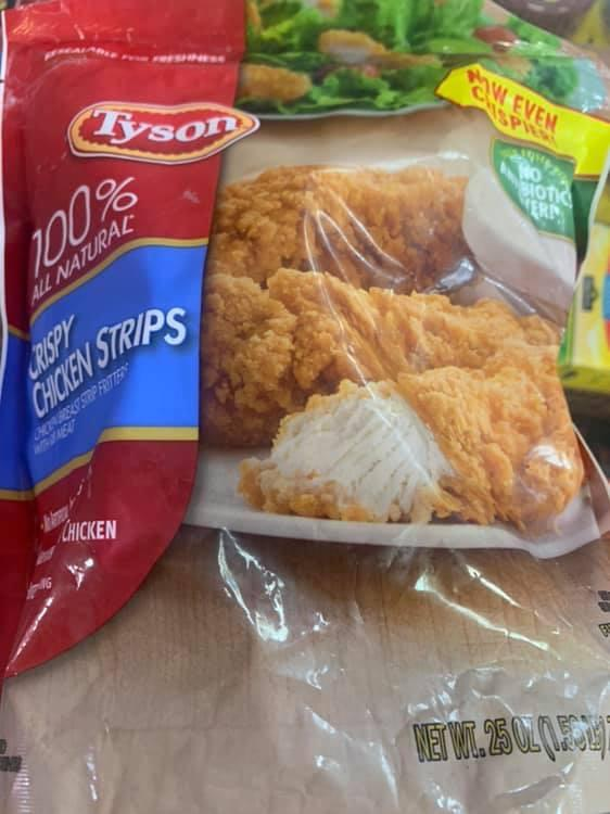 Dillons Food Stores Tyson Fully Cooked Crispy Chicken Strips 25 Oz