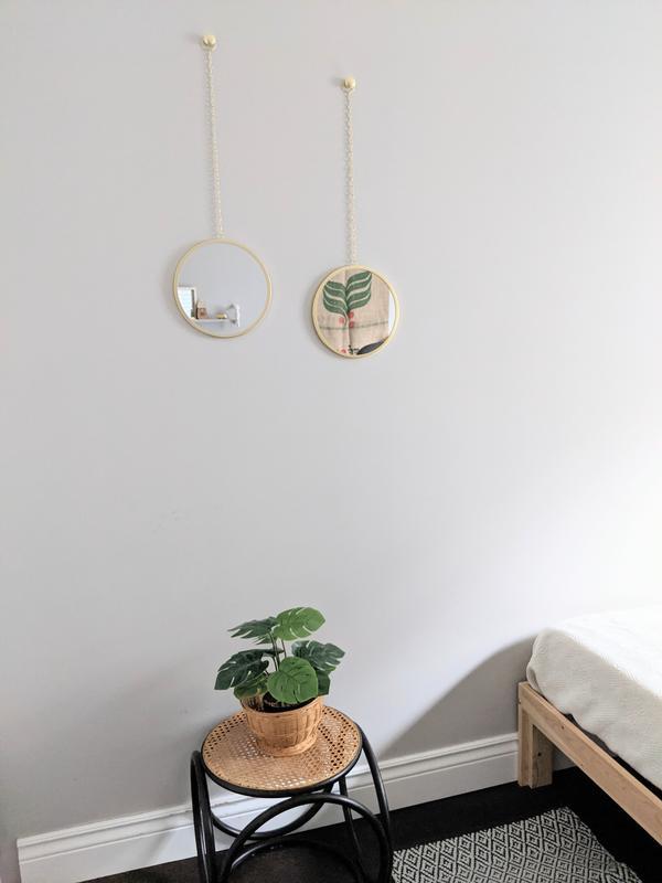Dima Round Mirror Decorative, Dima Round Accent Mirror Set