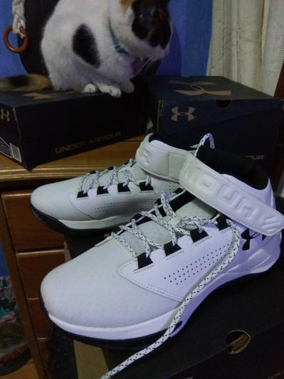 Under Armour Youth Boy/'s Get B Zee Basketball Shoes Blu//Gry #12990 10R1 tz NEW