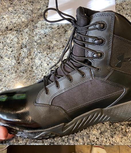 disculpa péndulo ocio  Men's UA Stellar Tactical Side-Zip Boots | Under Armour
