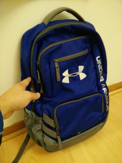 UA Team Hustle Backpack  81daf61fc7642