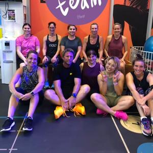 Tough work out at fit 360
