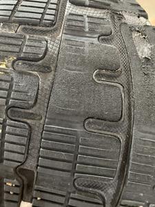 Tread wear after 390km's/2 months.