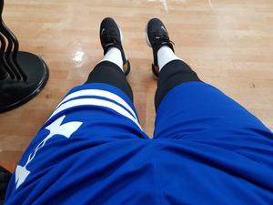 농구 하고 쉴때