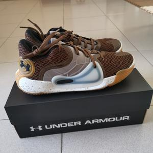 BROWN BBALL SHOES! NICE!