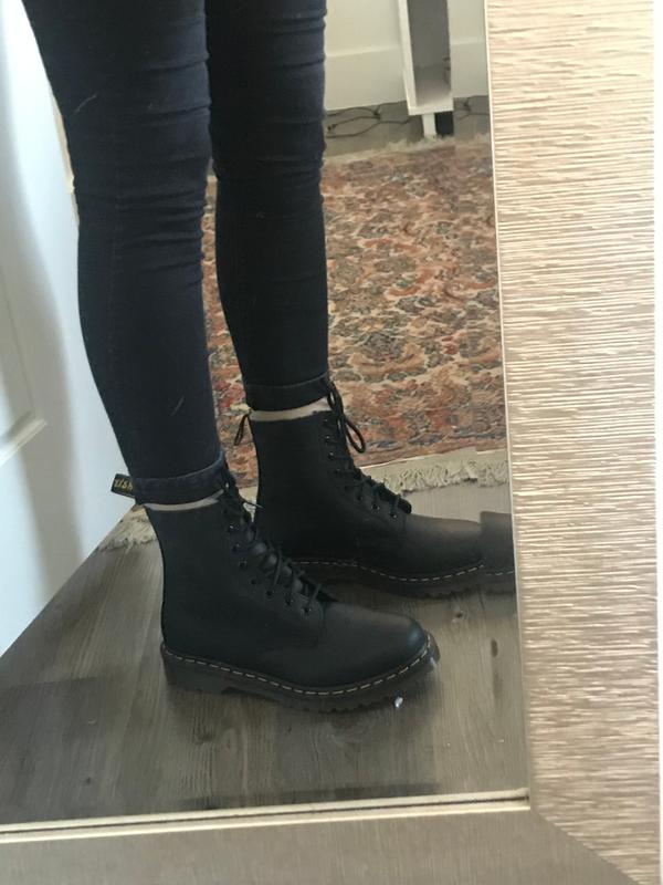 5a00db65674a4 Dr. Martens 1460 Serena Fur-Lined Boot | Urban Outfitters Canada