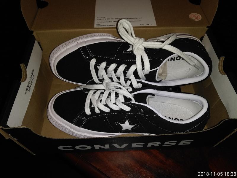 c6d9482c6d4 Converse One Star Suede Ox Sneaker