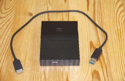 WESTERN DIGITAL NEW MY PASSPORT 3TB BLACK