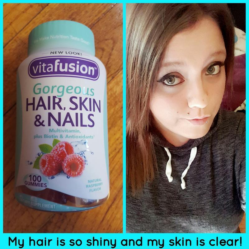 Vitafusion Gorgeous Hair Skin And Nails 64