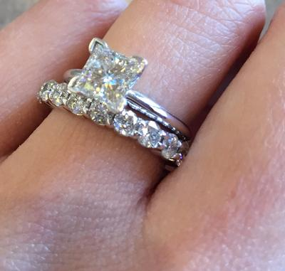 miabella anniversary engagement diamond t bands ring carat band stone ip in three white w gold